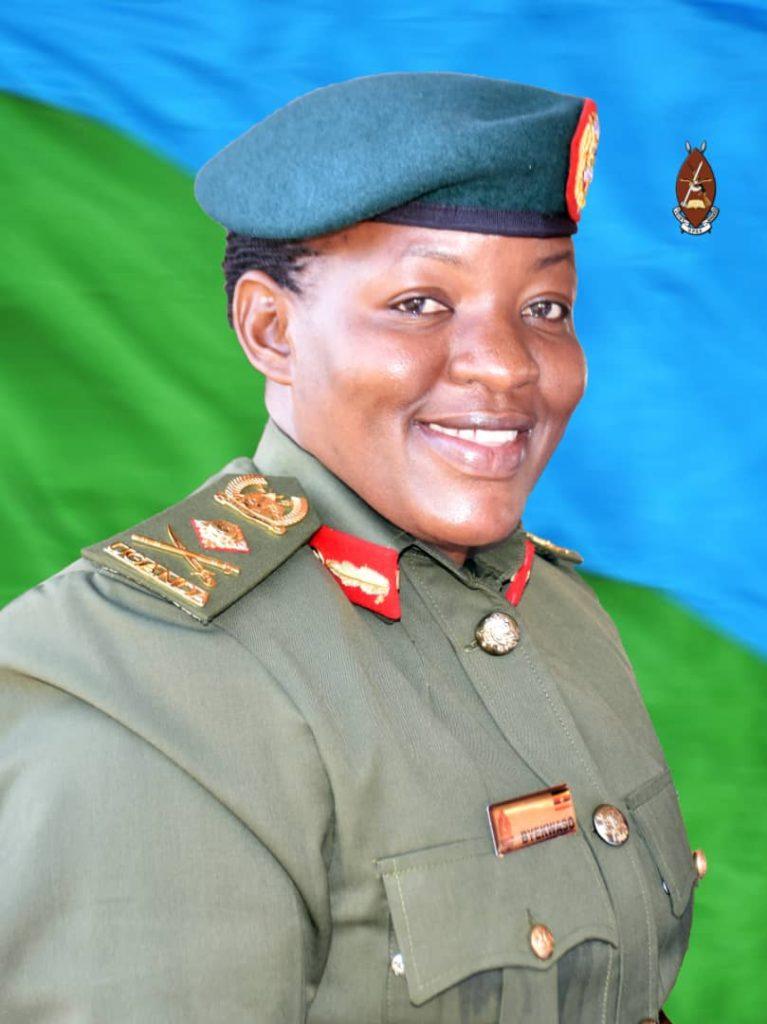 Brig Gen Flavia Byekwaso